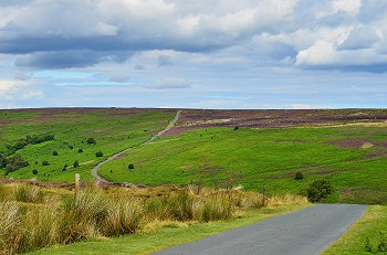 North York moors England